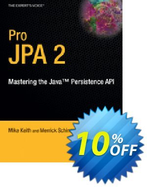 Pro JPA 2 (Keith) 프로모션 코드 Pro JPA 2 (Keith) Deal 프로모션: Pro JPA 2 (Keith) Exclusive Easter Sale offer for iVoicesoft