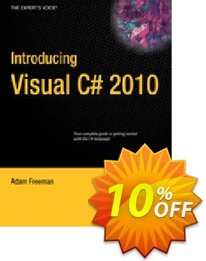 Introducing Visual C# 2010 (Freeman) Coupon discount Introducing Visual C# 2010 (Freeman) Deal. Promotion: Introducing Visual C# 2010 (Freeman) Exclusive Easter Sale offer for iVoicesoft