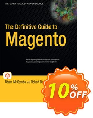 The Definitive Guide to Magento (McCombs) 프로모션 코드 The Definitive Guide to Magento (McCombs) Deal 프로모션: The Definitive Guide to Magento (McCombs) Exclusive Easter Sale offer for iVoicesoft