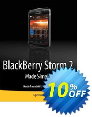 BlackBerry Storm2 Made Simple (Mazo) discount coupon BlackBerry Storm2 Made Simple (Mazo) Deal - BlackBerry Storm2 Made Simple (Mazo) Exclusive Easter Sale offer for iVoicesoft