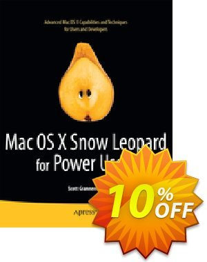 Mac OS X Snow Leopard for Power Users (Granneman) discount coupon Mac OS X Snow Leopard for Power Users (Granneman) Deal - Mac OS X Snow Leopard for Power Users (Granneman) Exclusive Easter Sale offer for iVoicesoft