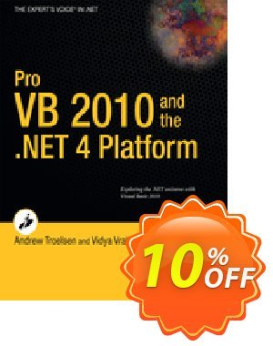 Pro VB 2010 and the .NET 4.0 Platform (Troelsen) 프로모션 코드 Pro VB 2010 and the .NET 4.0 Platform (Troelsen) Deal 프로모션: Pro VB 2010 and the .NET 4.0 Platform (Troelsen) Exclusive Easter Sale offer for iVoicesoft