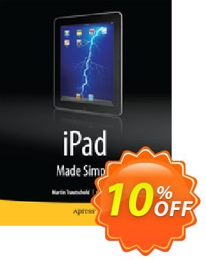 iPad Made Simple (Mazo) Gutschein rabatt iPad Made Simple (Mazo) Deal Aktion: iPad Made Simple (Mazo) Exclusive Easter Sale offer for iVoicesoft
