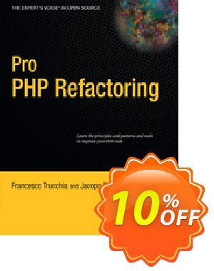 Pro PHP Refactoring (Trucchia) discount coupon Pro PHP Refactoring (Trucchia) Deal - Pro PHP Refactoring (Trucchia) Exclusive Easter Sale offer for iVoicesoft