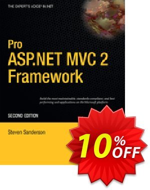 Pro ASP.NET MVC 2 Framework (Sanderson) 프로모션 코드 Pro ASP.NET MVC 2 Framework (Sanderson) Deal 프로모션: Pro ASP.NET MVC 2 Framework (Sanderson) Exclusive Easter Sale offer for iVoicesoft