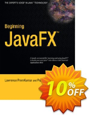 Beginning JavaFX (PremKumar) 프로모션 코드 Beginning JavaFX (PremKumar) Deal 프로모션: Beginning JavaFX (PremKumar) Exclusive Easter Sale offer for iVoicesoft