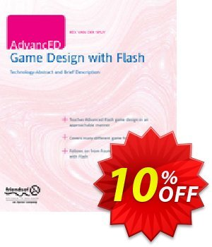 AdvancED Game Design with Flash (van der Spuy) discount coupon AdvancED Game Design with Flash (van der Spuy) Deal - AdvancED Game Design with Flash (van der Spuy) Exclusive Easter Sale offer for iVoicesoft