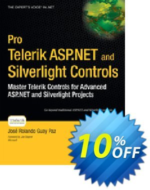 Pro Telerik ASP.NET and Silverlight Controls (Guay Paz) discount coupon Pro Telerik ASP.NET and Silverlight Controls (Guay Paz) Deal - Pro Telerik ASP.NET and Silverlight Controls (Guay Paz) Exclusive Easter Sale offer for iVoicesoft
