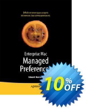 Enterprise Mac Managed Preferences (Marczak) discount coupon Enterprise Mac Managed Preferences (Marczak) Deal - Enterprise Mac Managed Preferences (Marczak) Exclusive Easter Sale offer for iVoicesoft