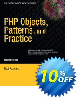 PHP Objects, Patterns and Practice (Zandstra) discount coupon PHP Objects, Patterns and Practice (Zandstra) Deal - PHP Objects, Patterns and Practice (Zandstra) Exclusive Easter Sale offer for iVoicesoft