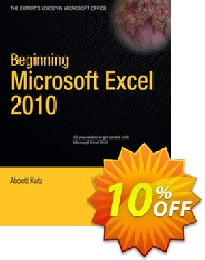 Beginning Microsoft Excel 2010 (Katz) discount coupon Beginning Microsoft Excel 2010 (Katz) Deal - Beginning Microsoft Excel 2010 (Katz) Exclusive Easter Sale offer for iVoicesoft