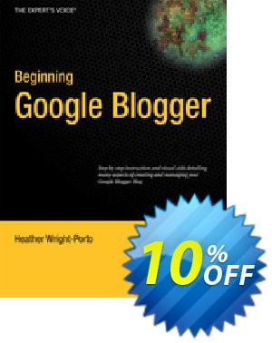 Beginning Google Blogger (Wright-Porto) Coupon discount Beginning Google Blogger (Wright-Porto) Deal. Promotion: Beginning Google Blogger (Wright-Porto) Exclusive Easter Sale offer for iVoicesoft