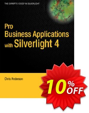 Pro Business Applications with Silverlight 4 (Anderson) discount coupon Pro Business Applications with Silverlight 4 (Anderson) Deal - Pro Business Applications with Silverlight 4 (Anderson) Exclusive Easter Sale offer for iVoicesoft