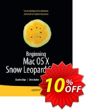 Beginning Mac OS X Snow Leopard Server (Edge) 프로모션 코드 Beginning Mac OS X Snow Leopard Server (Edge) Deal 프로모션: Beginning Mac OS X Snow Leopard Server (Edge) Exclusive Easter Sale offer for iVoicesoft