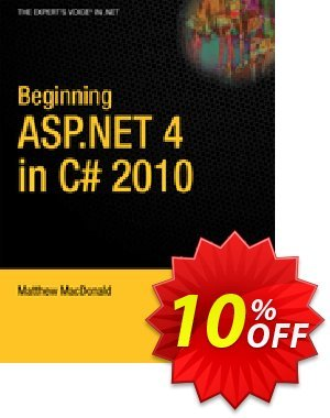 Beginning ASP.NET 4 in C# 2010 (MacDonald) discount coupon Beginning ASP.NET 4 in C# 2010 (MacDonald) Deal - Beginning ASP.NET 4 in C# 2010 (MacDonald) Exclusive Easter Sale offer for iVoicesoft