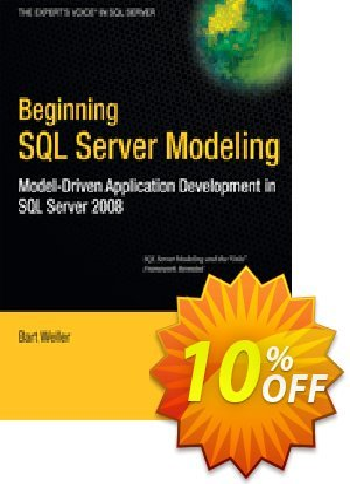 Beginning SQL Server Modeling (Weller) Coupon discount Beginning SQL Server Modeling (Weller) Deal
