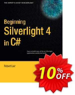 Beginning Silverlight 4 in C# (Lair) discount coupon Beginning Silverlight 4 in C# (Lair) Deal - Beginning Silverlight 4 in C# (Lair) Exclusive Easter Sale offer for iVoicesoft