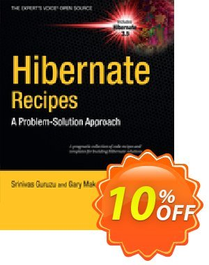 Hibernate Recipes (Mak)割引コード・Hibernate Recipes (Mak) Deal キャンペーン:Hibernate Recipes (Mak) Exclusive Easter Sale offer for iVoicesoft