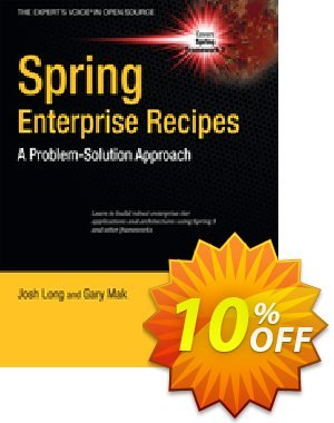 Spring Enterprise Recipes (Mak) discount coupon Spring Enterprise Recipes (Mak) Deal - Spring Enterprise Recipes (Mak) Exclusive Easter Sale offer for iVoicesoft