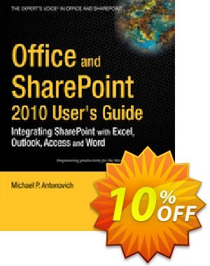 Office and SharePoint 2010 User's Guide (Antonovich) discount coupon Office and SharePoint 2010 User's Guide (Antonovich) Deal - Office and SharePoint 2010 User's Guide (Antonovich) Exclusive Easter Sale offer for iVoicesoft