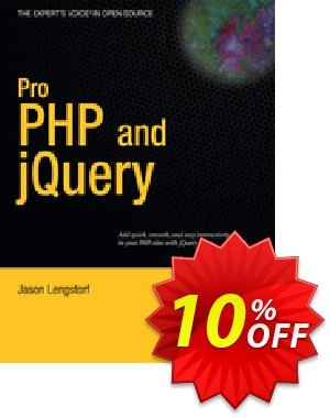 Pro PHP and jQuery (Lengstorf) discount coupon Pro PHP and jQuery (Lengstorf) Deal - Pro PHP and jQuery (Lengstorf) Exclusive Easter Sale offer for iVoicesoft