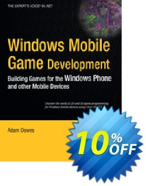 Windows Mobile Game Development (Dawes) 프로모션 코드 Windows Mobile Game Development (Dawes) Deal 프로모션: Windows Mobile Game Development (Dawes) Exclusive Easter Sale offer for iVoicesoft