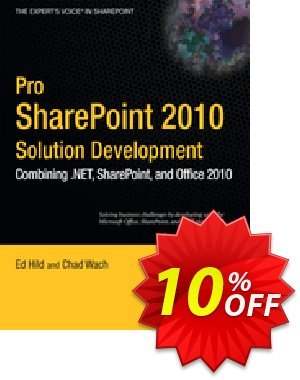 Pro SharePoint 2010 Solution Development (Hild) discount coupon Pro SharePoint 2010 Solution Development (Hild) Deal - Pro SharePoint 2010 Solution Development (Hild) Exclusive Easter Sale offer for iVoicesoft