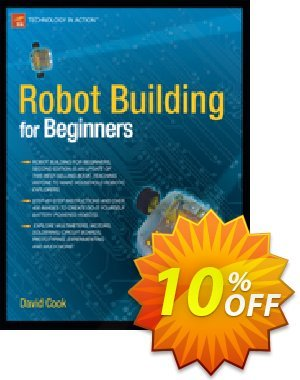 Robot Building for Beginners (Cook) 優惠券,折扣碼 Robot Building for Beginners (Cook) Deal,促銷代碼: Robot Building for Beginners (Cook) Exclusive Easter Sale offer for iVoicesoft
