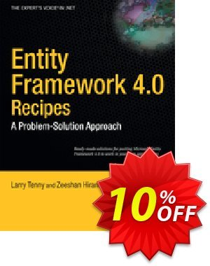Entity Framework 4.0 Recipes (Tenny) 프로모션 코드 Entity Framework 4.0 Recipes (Tenny) Deal 프로모션: Entity Framework 4.0 Recipes (Tenny) Exclusive Easter Sale offer for iVoicesoft