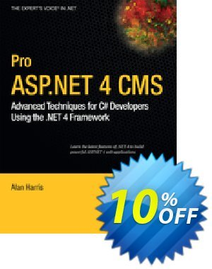 Pro ASP.NET 4 CMS (Harris) discount coupon Pro ASP.NET 4 CMS (Harris) Deal - Pro ASP.NET 4 CMS (Harris) Exclusive Easter Sale offer for iVoicesoft