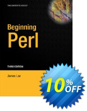Beginning Perl (Lee) 프로모션 코드 Beginning Perl (Lee) Deal 프로모션: Beginning Perl (Lee) Exclusive Easter Sale offer for iVoicesoft