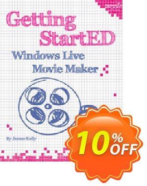 Getting StartED with Windows Live Movie Maker (Floyd Kelly) discount coupon Getting StartED with Windows Live Movie Maker (Floyd Kelly) Deal - Getting StartED with Windows Live Movie Maker (Floyd Kelly) Exclusive Easter Sale offer for iVoicesoft