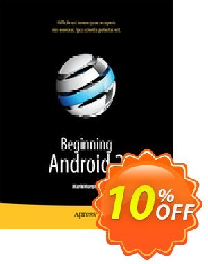 Beginning Android 2 (Murphy) discount coupon Beginning Android 2 (Murphy) Deal - Beginning Android 2 (Murphy) Exclusive Easter Sale offer for iVoicesoft