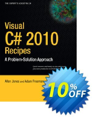 Visual C# 2010 Recipes (Jones) 프로모션 코드 Visual C# 2010 Recipes (Jones) Deal 프로모션: Visual C# 2010 Recipes (Jones) Exclusive Easter Sale offer for iVoicesoft