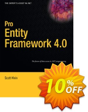 Pro Entity Framework 4.0 (Klein) discount coupon Pro Entity Framework 4.0 (Klein) Deal - Pro Entity Framework 4.0 (Klein) Exclusive Easter Sale offer for iVoicesoft