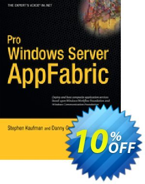 Pro Windows Server AppFabric (Kaufman) discount coupon Pro Windows Server AppFabric (Kaufman) Deal - Pro Windows Server AppFabric (Kaufman) Exclusive Easter Sale offer for iVoicesoft