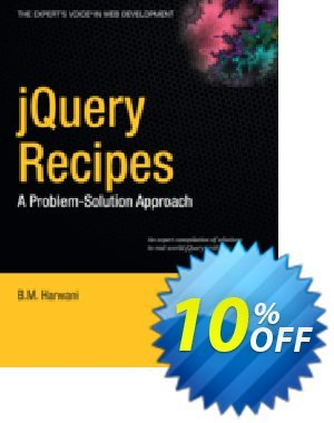 jQuery Recipes (Harwani) discount coupon jQuery Recipes (Harwani) Deal - jQuery Recipes (Harwani) Exclusive Easter Sale offer for iVoicesoft