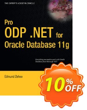 Pro ODP.NET for Oracle Database 11g (Zehoo) discount coupon Pro ODP.NET for Oracle Database 11g (Zehoo) Deal - Pro ODP.NET for Oracle Database 11g (Zehoo) Exclusive Easter Sale offer for iVoicesoft