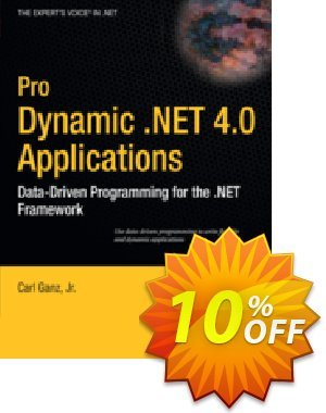 Pro Dynamic .NET 4.0 Applications (Ganz) discount coupon Pro Dynamic .NET 4.0 Applications (Ganz) Deal - Pro Dynamic .NET 4.0 Applications (Ganz) Exclusive Easter Sale offer for iVoicesoft