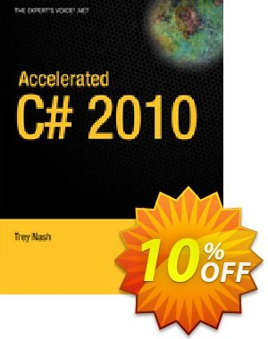 Accelerated C# 2010 (Nash) 優惠券,折扣碼 Accelerated C# 2010 (Nash) Deal,促銷代碼: Accelerated C# 2010 (Nash) Exclusive Easter Sale offer for iVoicesoft