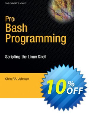 Pro Bash Programming (Johnson) discount coupon Pro Bash Programming (Johnson) Deal - Pro Bash Programming (Johnson) Exclusive Easter Sale offer for iVoicesoft