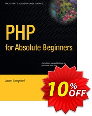 PHP for Absolute Beginners (Lengstorf) discount coupon PHP for Absolute Beginners (Lengstorf) Deal - PHP for Absolute Beginners (Lengstorf) Exclusive Easter Sale offer for iVoicesoft