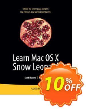 Learn Mac OS X Snow Leopard (Lee) 優惠券,折扣碼 Learn Mac OS X Snow Leopard (Lee) Deal,促銷代碼: Learn Mac OS X Snow Leopard (Lee) Exclusive Easter Sale offer for iVoicesoft