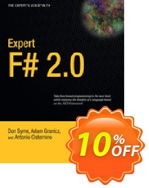 Expert F# 2.0 (Syme) discount coupon Expert F# 2.0 (Syme) Deal - Expert F# 2.0 (Syme) Exclusive Easter Sale offer for iVoicesoft