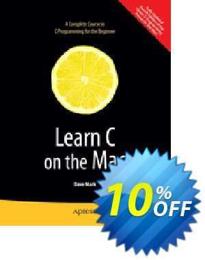 Learn C on the Mac (Mark) 프로모션 코드 Learn C on the Mac (Mark) Deal 프로모션: Learn C on the Mac (Mark) Exclusive Easter Sale offer for iVoicesoft