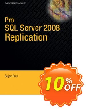 Pro SQL Server 2008 Replication (Paul) discount coupon Pro SQL Server 2008 Replication (Paul) Deal - Pro SQL Server 2008 Replication (Paul) Exclusive Easter Sale offer for iVoicesoft