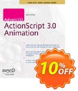 AdvancED ActionScript 3.0 Animation (Peters) 優惠券,折扣碼 AdvancED ActionScript 3.0 Animation (Peters) Deal,促銷代碼: AdvancED ActionScript 3.0 Animation (Peters) Exclusive Easter Sale offer for iVoicesoft