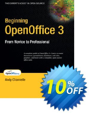 Beginning OpenOffice 3 (Channelle) discount coupon Beginning OpenOffice 3 (Channelle) Deal - Beginning OpenOffice 3 (Channelle) Exclusive Easter Sale offer for iVoicesoft