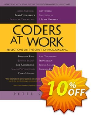 Coders at Work (Seibel) 優惠券,折扣碼 Coders at Work (Seibel) Deal,促銷代碼: Coders at Work (Seibel) Exclusive Easter Sale offer for iVoicesoft