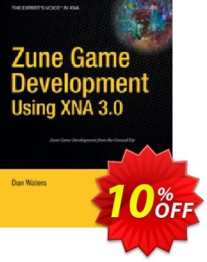 Zune Game Development using XNA 3.0 (Waters) discount coupon Zune Game Development using XNA 3.0 (Waters) Deal - Zune Game Development using XNA 3.0 (Waters) Exclusive Easter Sale offer for iVoicesoft